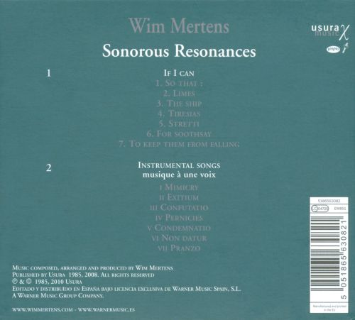 Sonorous Resonances