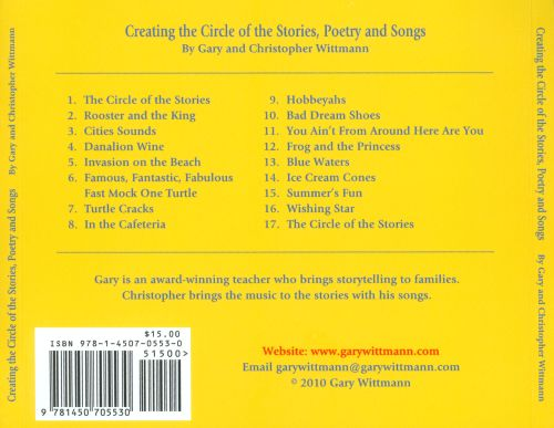 Creating the Circle of the Stories, Poetry and Songs