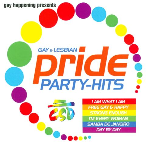 Gay Happening Present Pride Party Hits