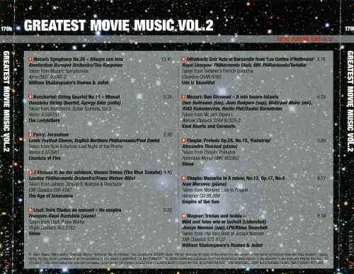 Greatest Movie Music, Vol. 2: Classics at the Movies