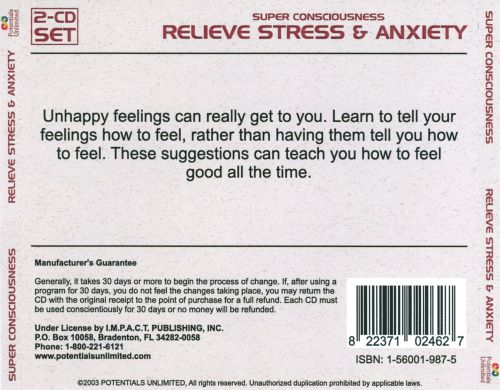 Super Consciousness: Relieve Stress & Anxiety