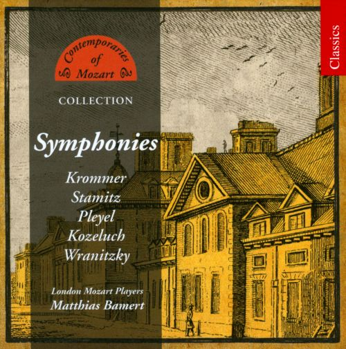 Contemporaries of Mozart Collection: Symphonies