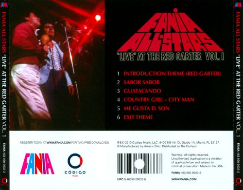 live at the red garter vol.1 fania 1968