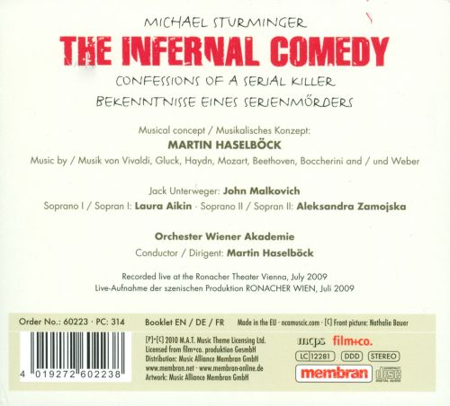 The Infernal Comedy: Confessions of a Serial Killer