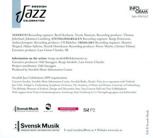 Live From the Swedish Jazz Celebration 2009