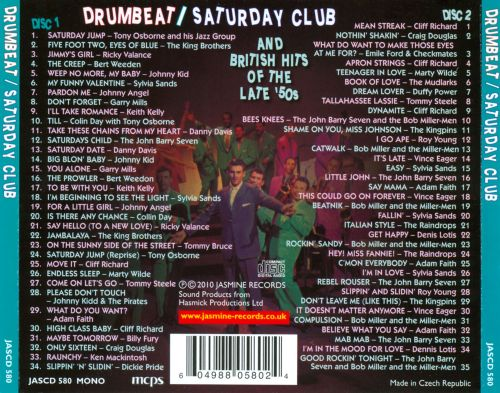 Drumbeat/Saturday Club And British Hits of the Late '50s