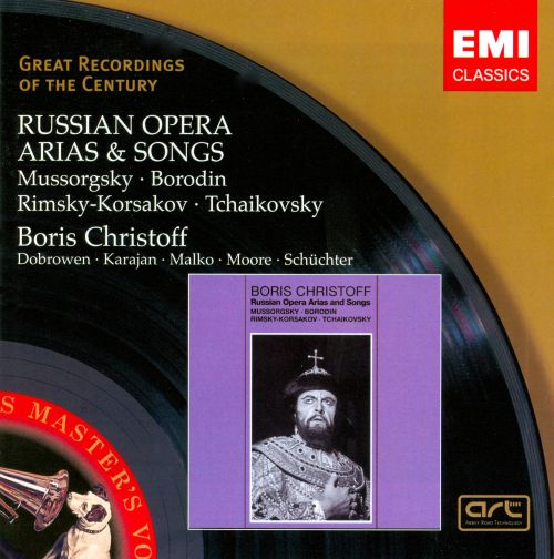 Russian Opera Arias And Songs
