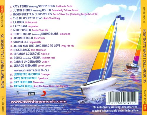 Now Thats What I Call Music 35 Various Artists Songs Reviews