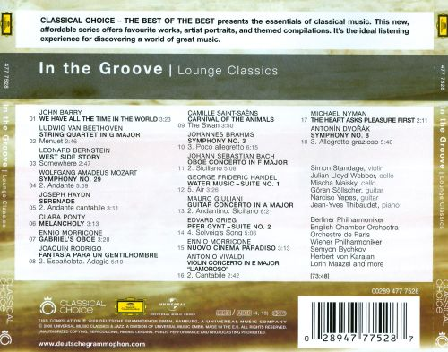 In the Groove: Lounge Classics