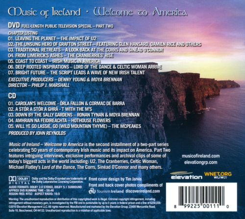 Music of Ireland: Welcome to America