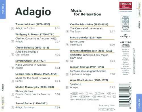 Adagio: Music for Relaxation