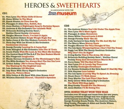 Heroes & Sweethearts: A Salute to the Great Wartime Songs