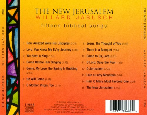 The  New Jerusalem: Fifteen Biblical Songs
