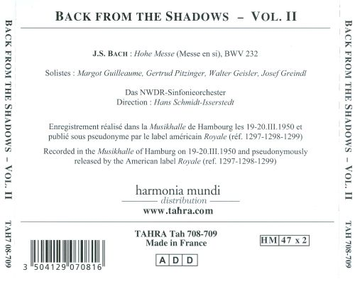 Back From The Shadows, Vol. 2