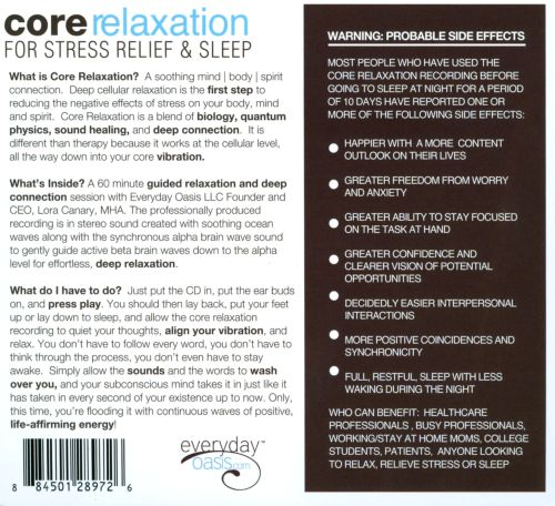 Core Relaxation for Stress Relief & Sleep