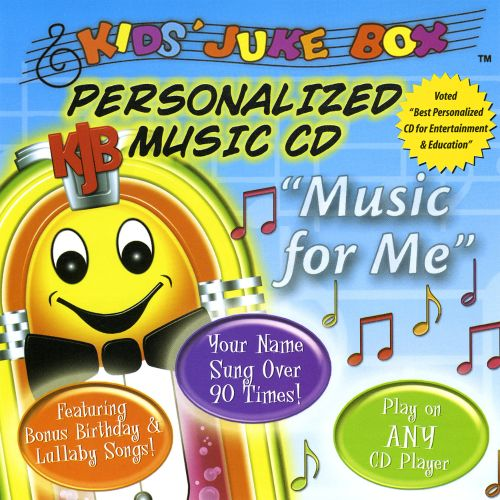 Kids' Juke Box: Music for Me - Personalized Music CD