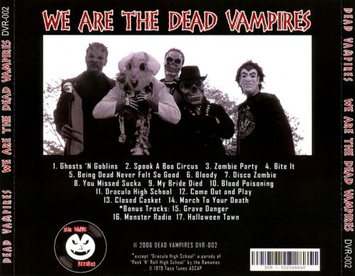 We Are the Dead Vampires
