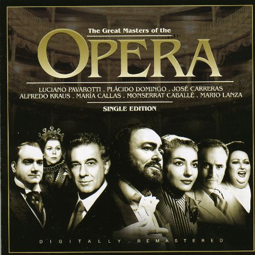 The Great Masters of Opera: Single Edition