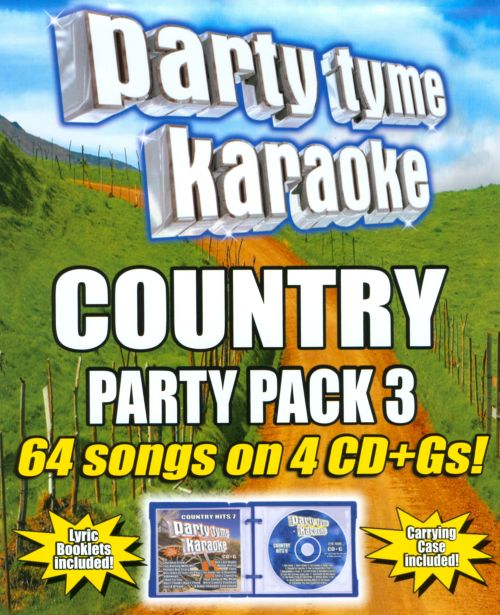 Party Tyme Karaoke: Country Party Pack, Vol. 3