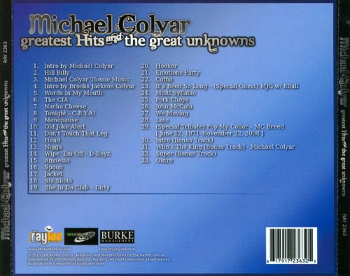 Greatest Hits and the Great Unknowns