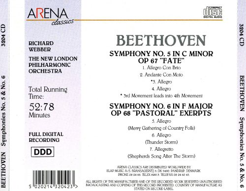 Beethoven: Symphonies Nos. 5