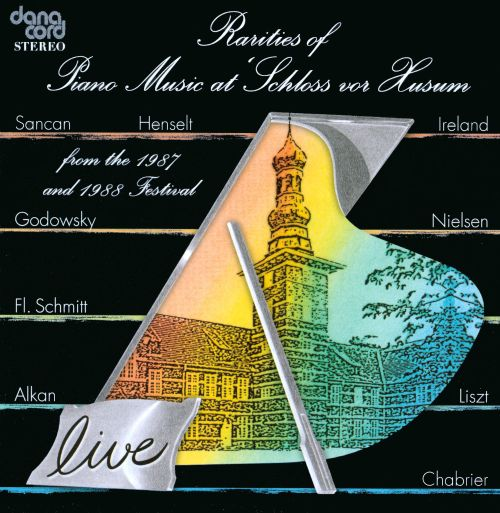 Rarities of Piano Music at 'Scholoss vor Husum' from the 1987 and 1988 Festival