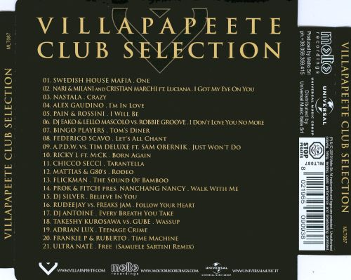 Villapapeete Club Selection