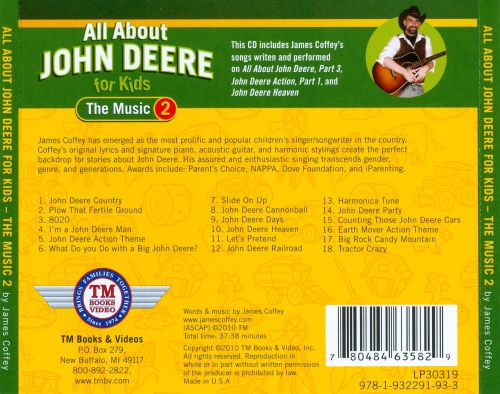 All About John Deere For Kids: The Music, Vol. 2
