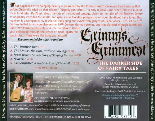 Grimms Grimmest: The Darker Side of Fairytales