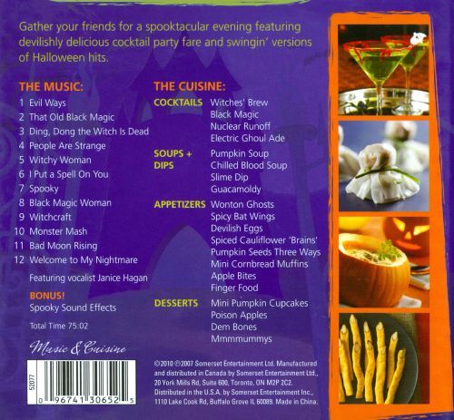 Halloween: Music & Cuisine For a Party With a Theme