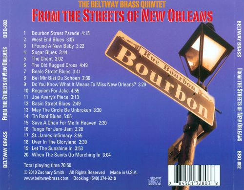 From the Streets of New Orleans