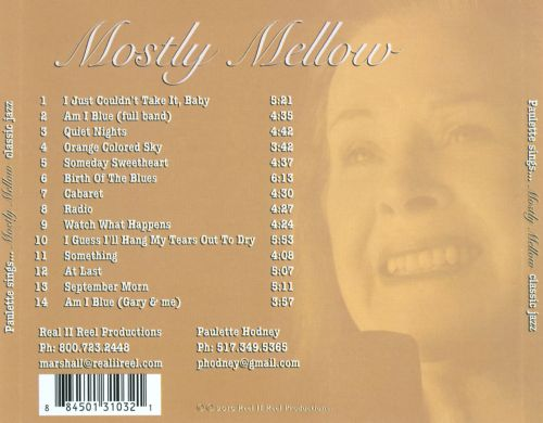 Paulette Sings Mostly Mellow Classic Jazz