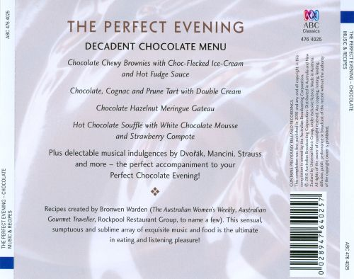 The Perfect Evening: Chocolate