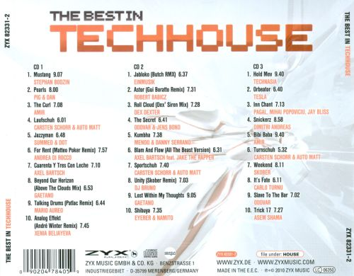 The  Best In Techhouse
