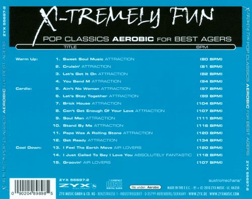 X-Tremely Fun: Pop Classics Aerobic for Best Agers