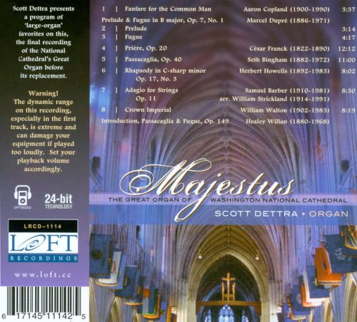 Majesties: The Great Organ of Washington National Cathedral