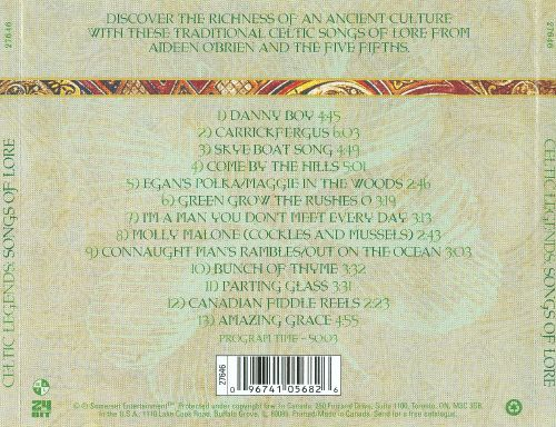 Celtic Legends: Songs of Lore
