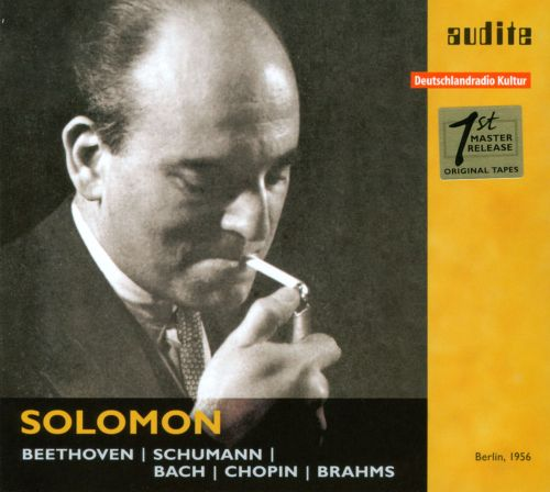 Solomon plays Beethoven, Schumann, Bach, Chopin & Brahms