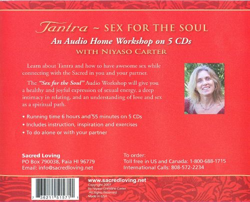 Tantra: Sex For The Soul
