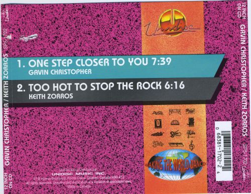 One Step Closer to You [CD Single]