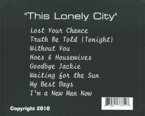This Lonely City