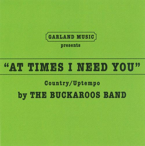At Times I Need You