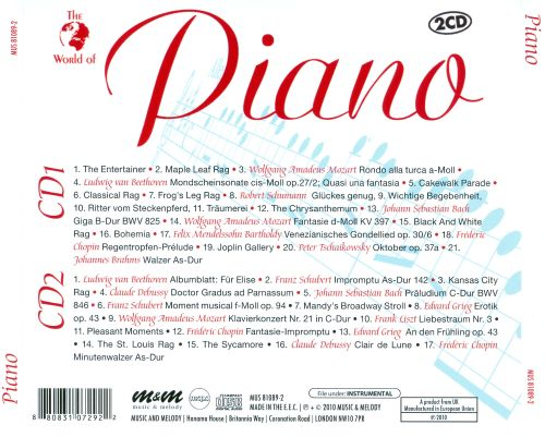 The World of Piano