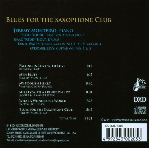 Blues for the Saxophone Club