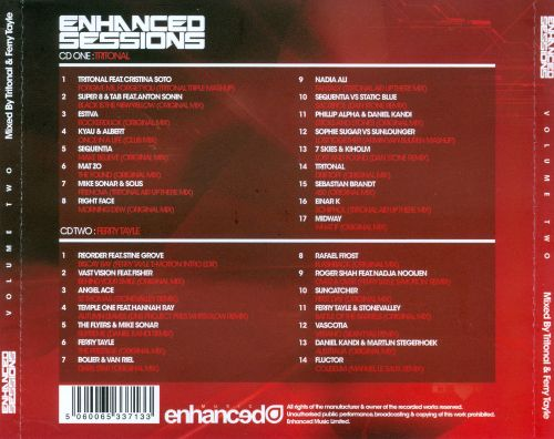 Enhanced Sessions (Mixed By Tritonal & Ferry Tayle)