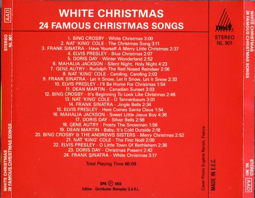24 famous christmas songs 24 famous christmas songs - Christmas Songs Classic