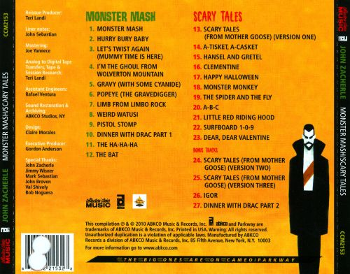 Monster Mash/Scary Tales