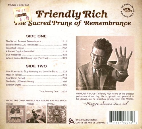 The Sacred Prune of Rememberance