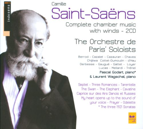 Saint-Saëns: Complete Chamber Music with Winds