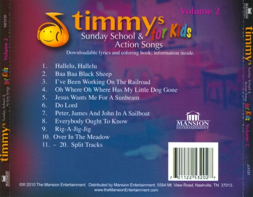 Action songs for sunday school children